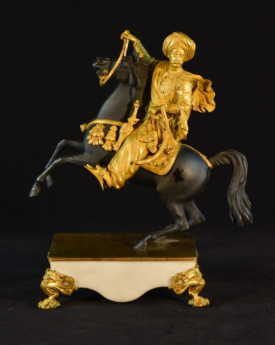 French Gilt Bronze Figurine of a Middle Eastern Turkish