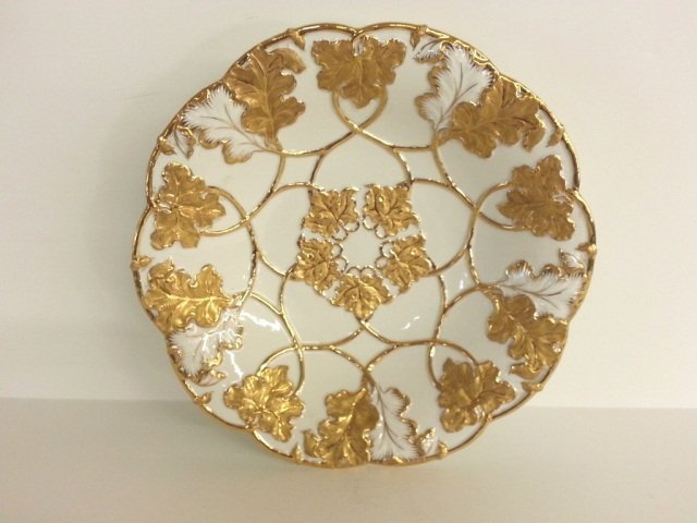 7: Meissen Gold and White Bowl