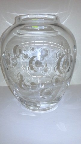16: Large Glass Tiffany Vase