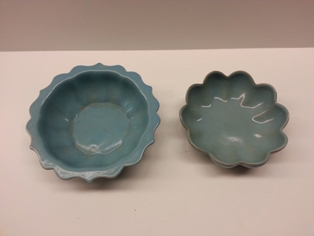 19: 2 pc Song Style Bowls with Marks