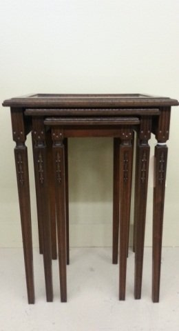 5: Set of Antique  Nesting Tables