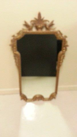 6: Antique Gilt  Mirror