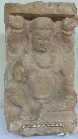 17: Icon Statue From Wall Of Buddhist Monastery