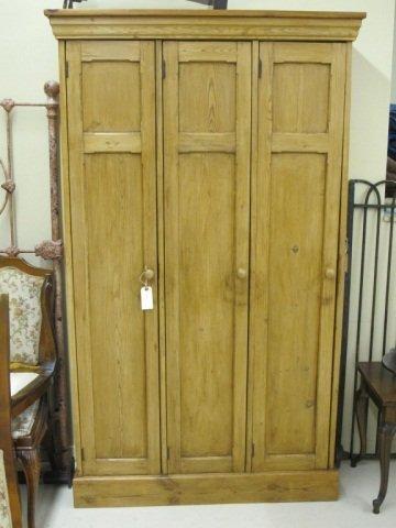 22: Antique Wood School Locker