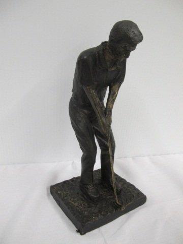 24: Bronze Golfer