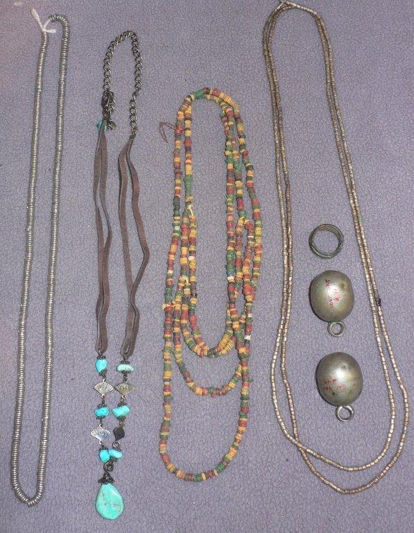 7 pc. necklace lot