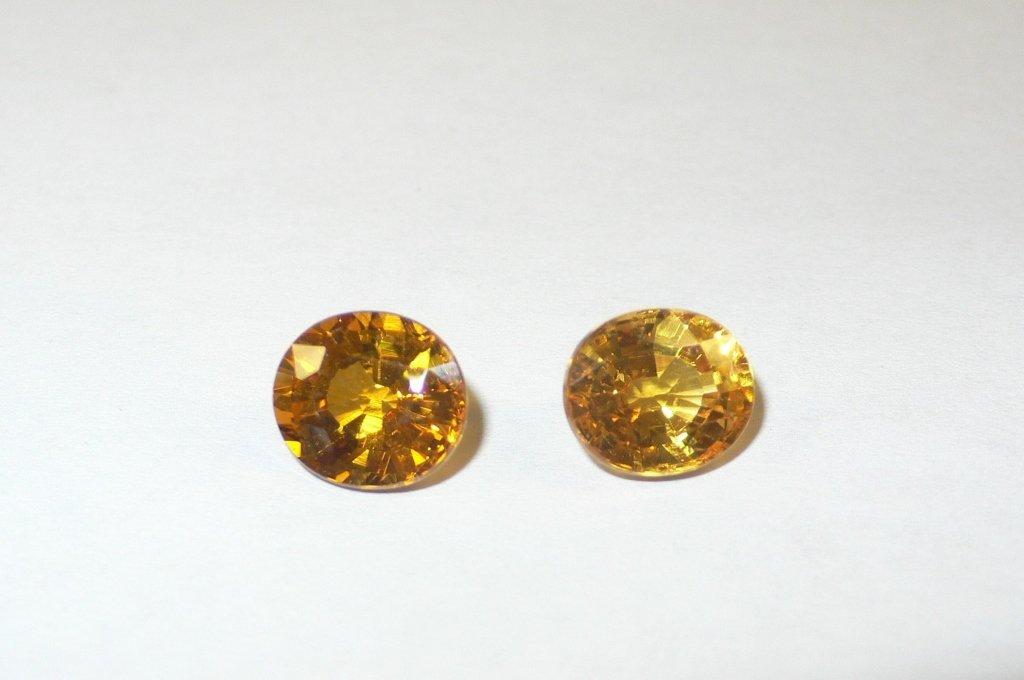 2 sapphires