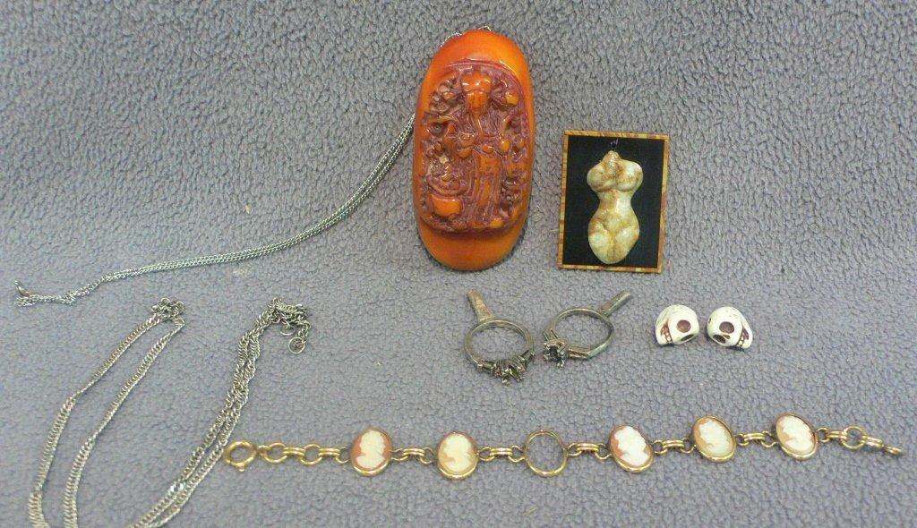8 pc jewelry