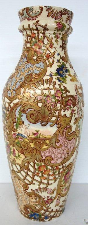 Vase marked  Hungary Fisher j. Budapest
