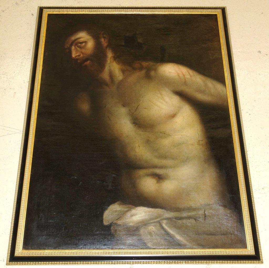 19th century oil on canvas European school