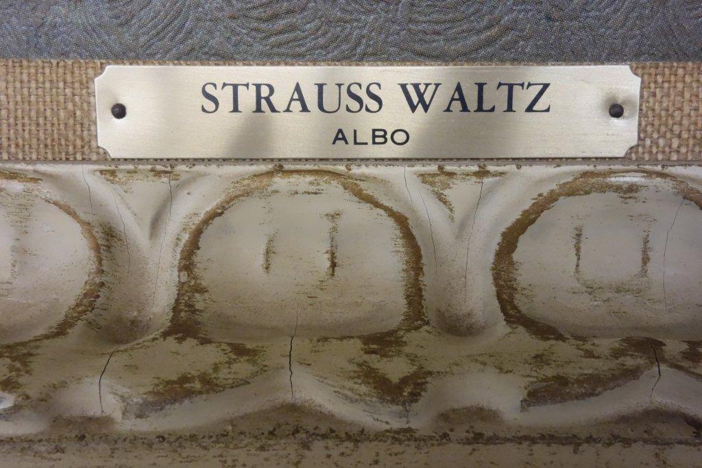"Ballroom dancing print  titled ""Strauss Waltz - 2"