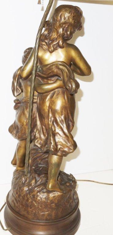 Hip Moreau bronze lamp - 3