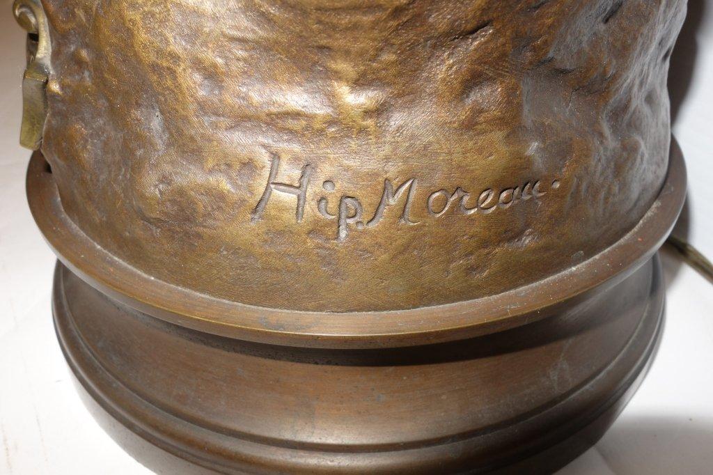 Hip Moreau bronze lamp - 4
