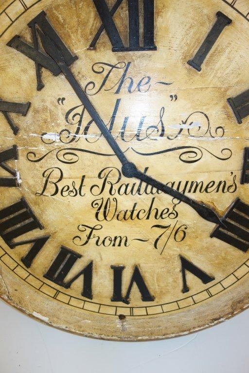 Large wood pocket watch display - 6