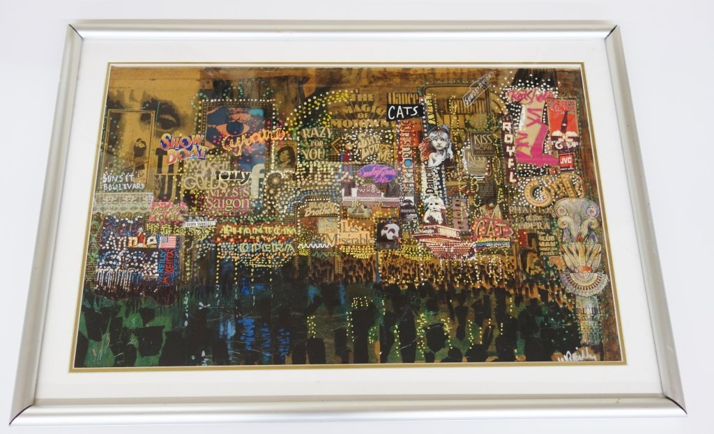 Mixed media collage by William Reilly
