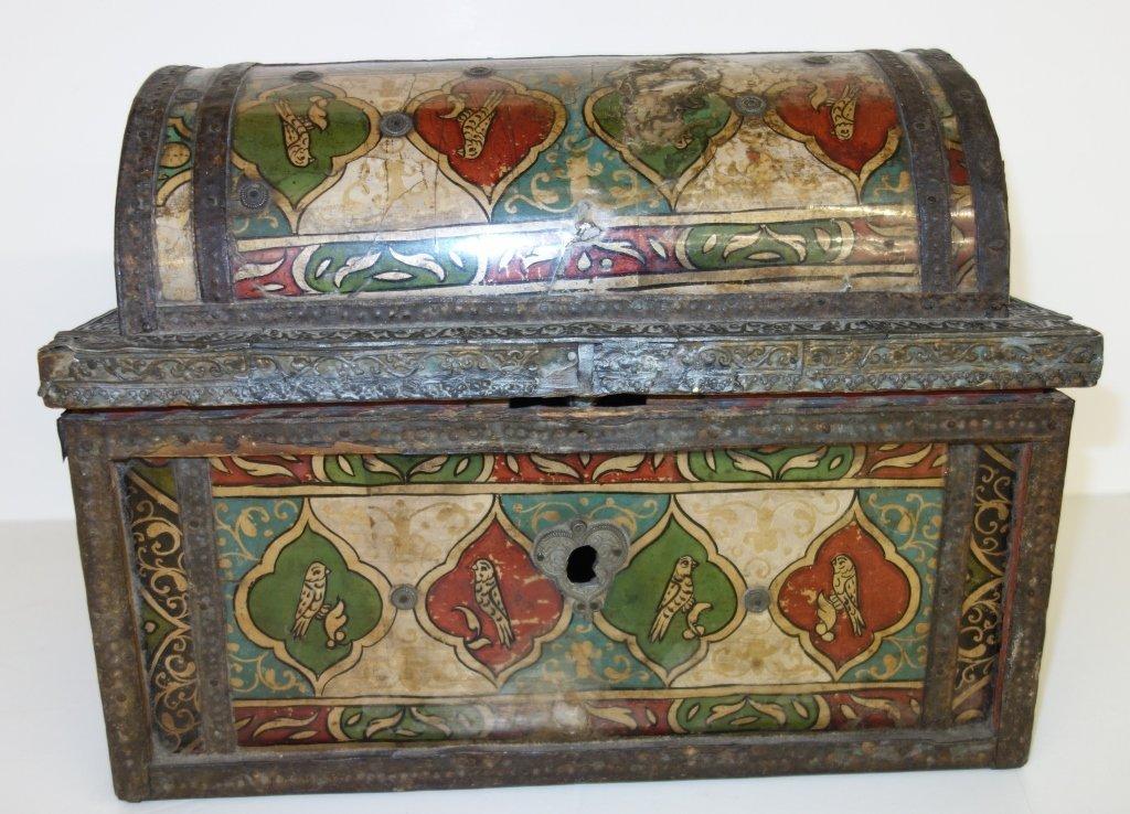 Peruvian box with secret compartment
