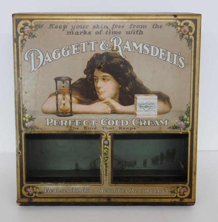 Daggett & Ramdeli's cold cream display