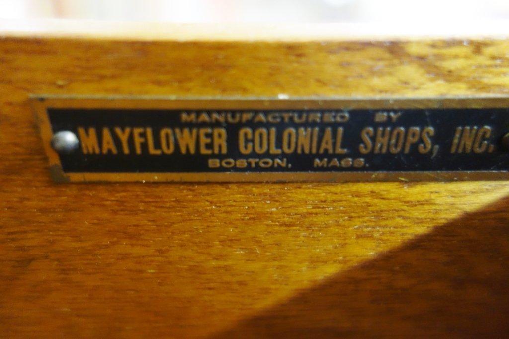 2 piece highboy dresser by Mayflower Colonial Shop - 2