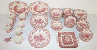 140 pc. Johnson Bros. England dishes/cups