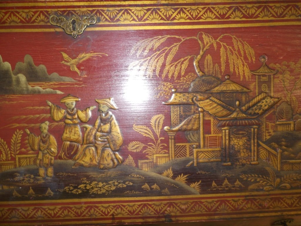 Oriental Bombay chest of drawers - 4
