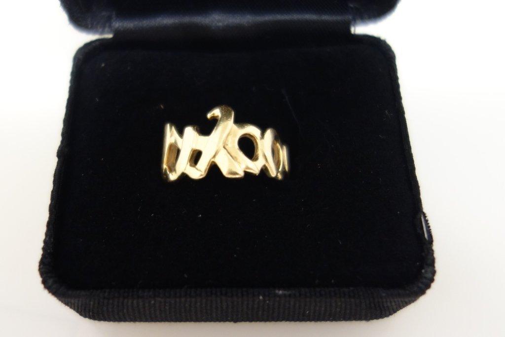 Tiffany & Co. Paloma Picasso 18k gold ring