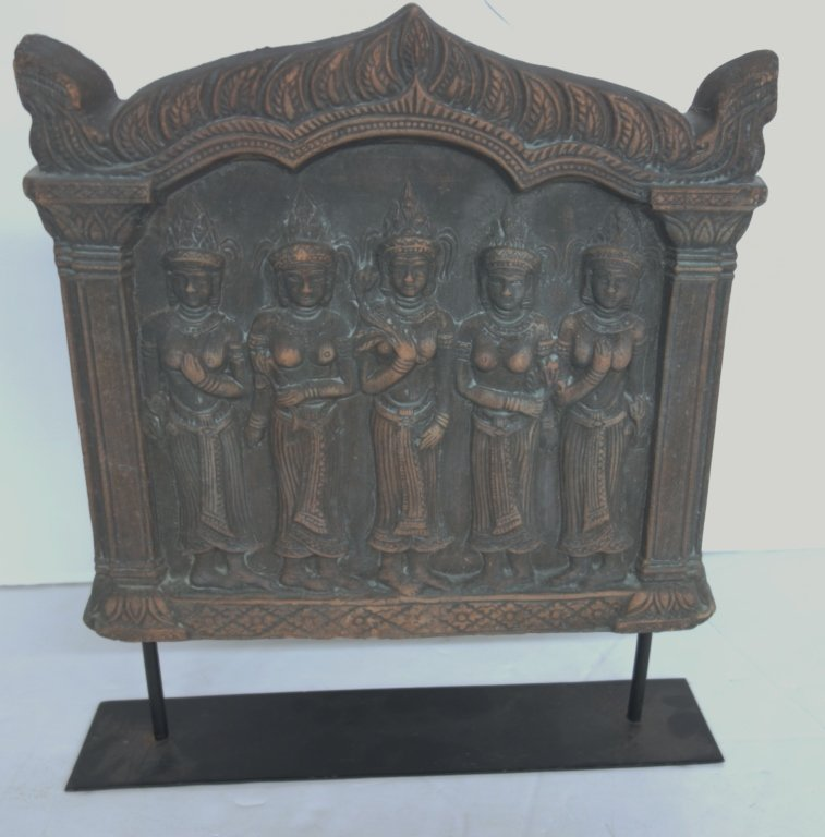 Indian stone plaque with stand