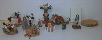 12 Walt Disney Collection Figurines