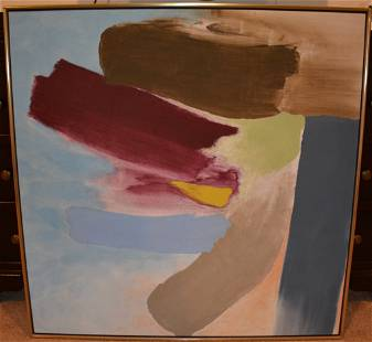 Friedel Dzubas abstract painting