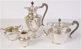 4 pc. coffee pot & tea pot set