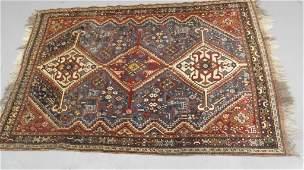 Hand made  Oriental Caucasian rug