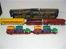 American Flyer Circus Train set #353,643,649