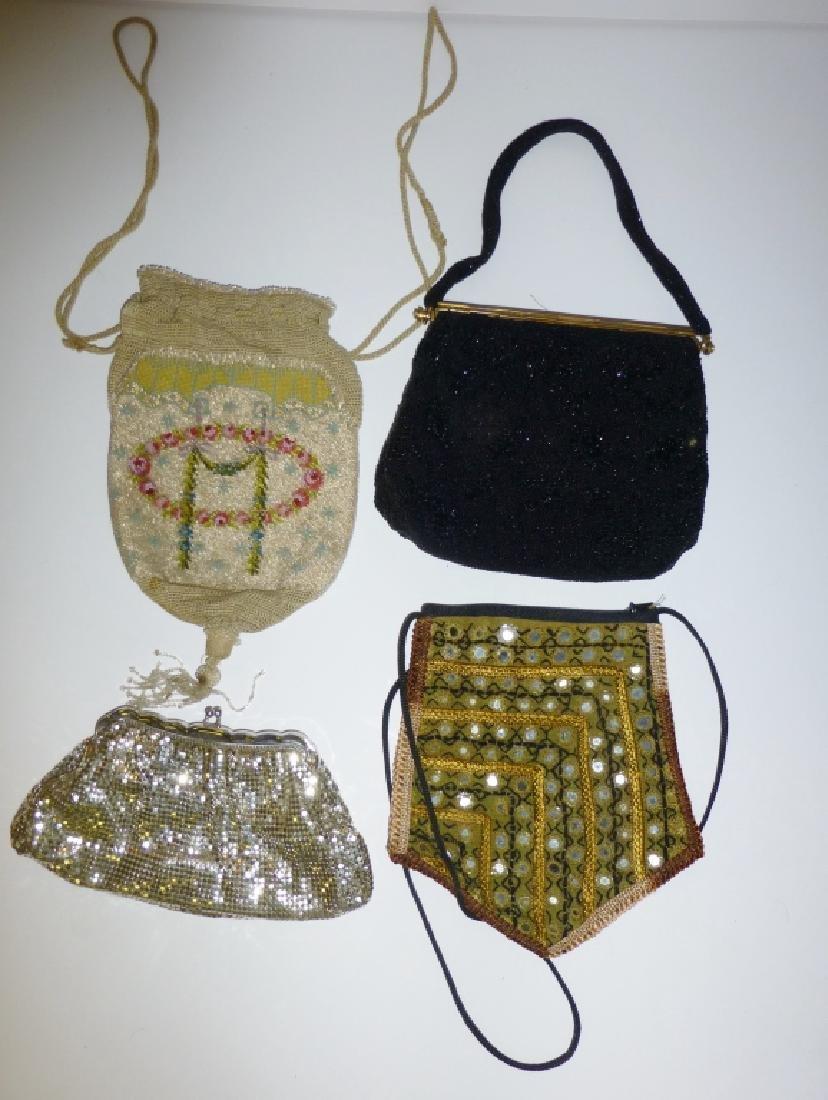 4 vintage purses