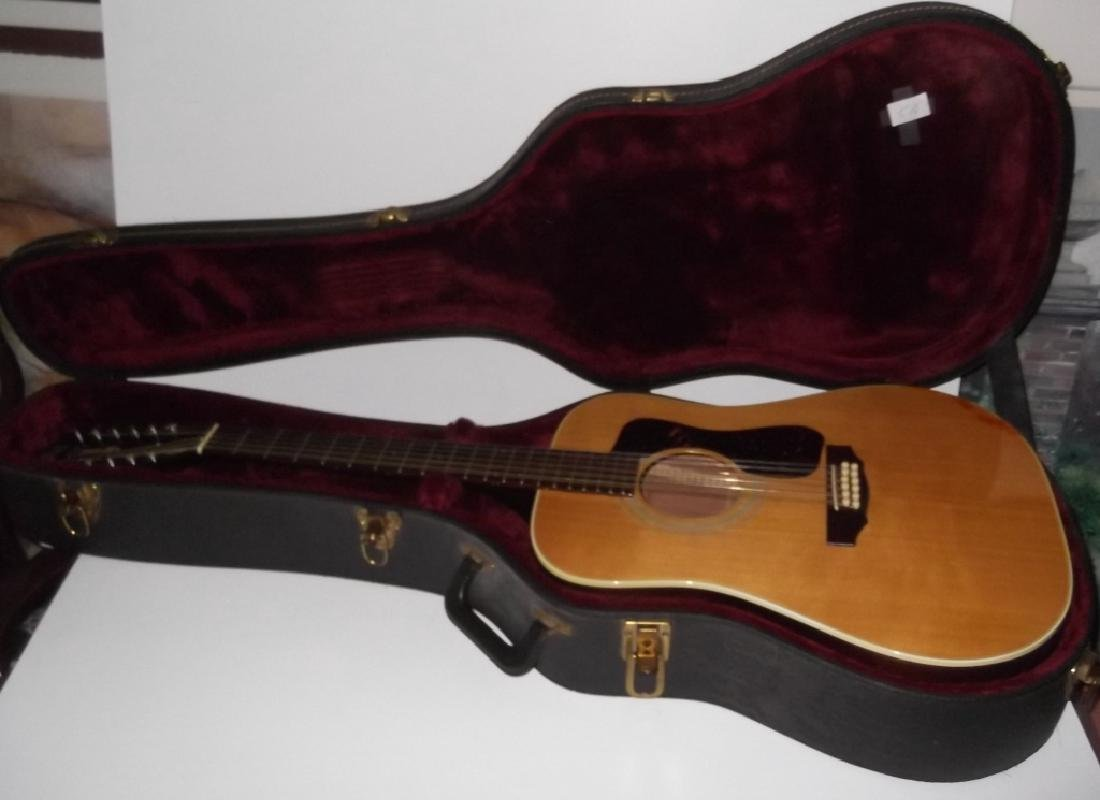 Guild acoustic guitar with case