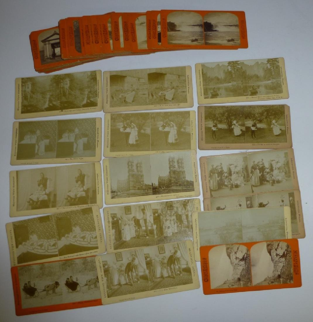 48 assorted stereo-optic viewer cards