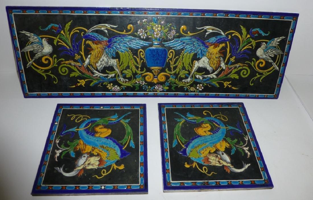 3 ceramic tiles