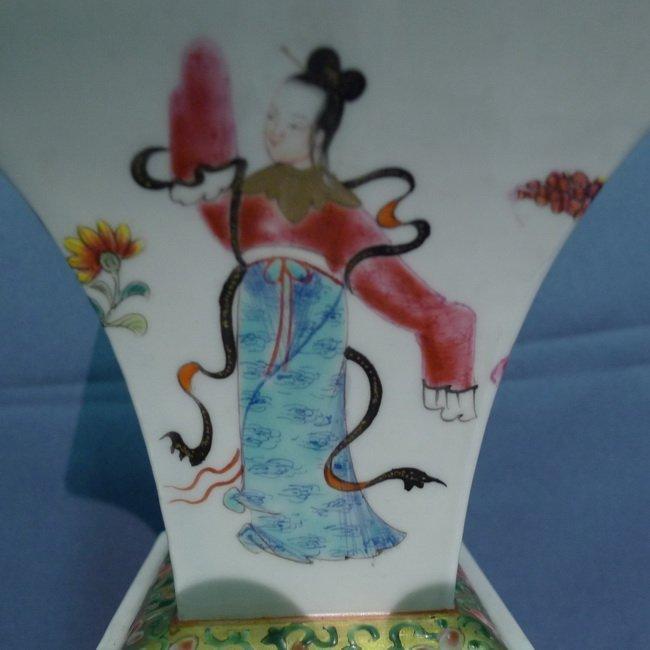A ChiGuang Cai waist square bottle - 4