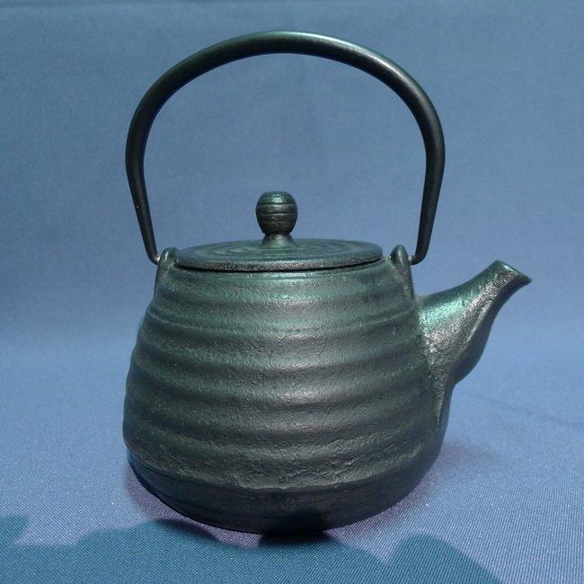 A Japanese 18/19th century Iron Teapot