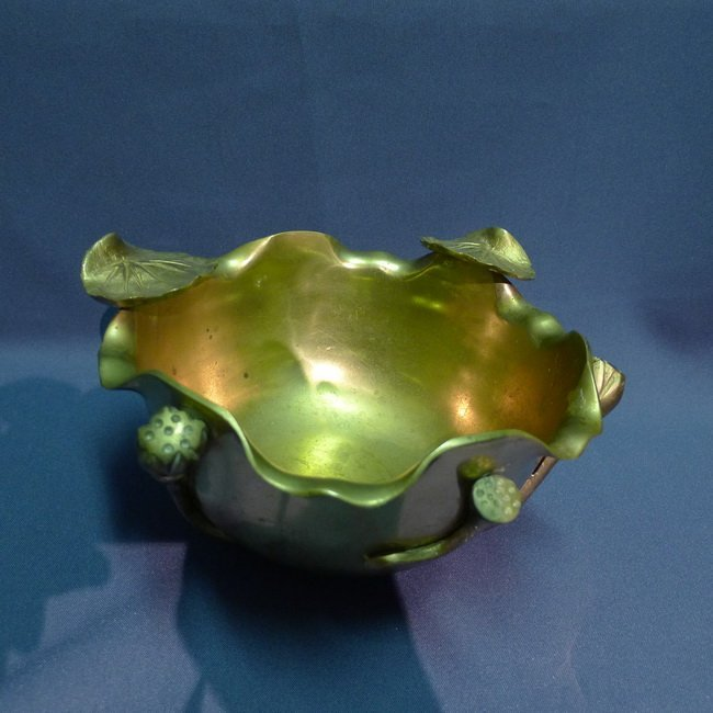 A Bronze Lotus pen wash.