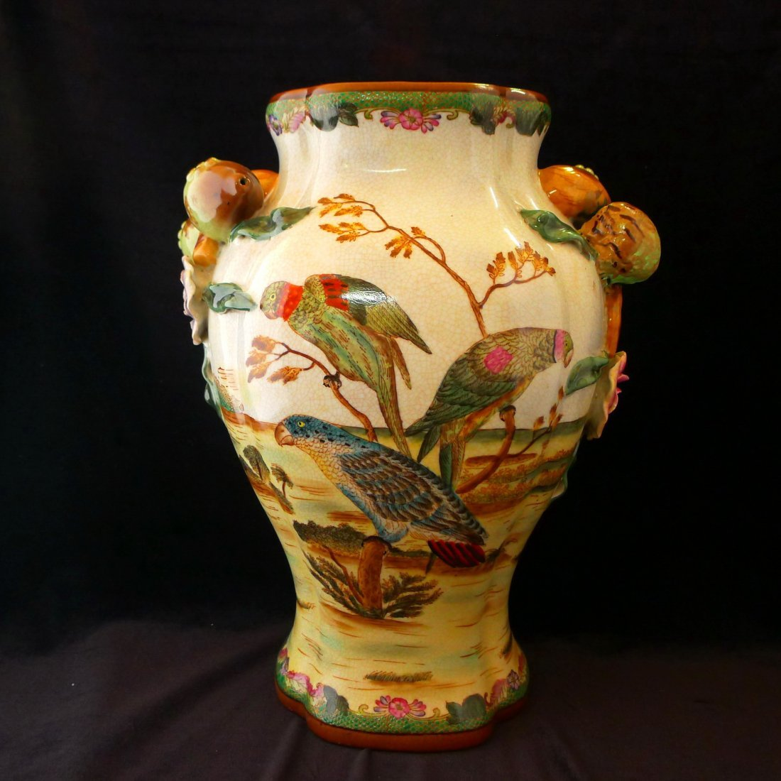 Chinese Antique Painted Porcelain Vase