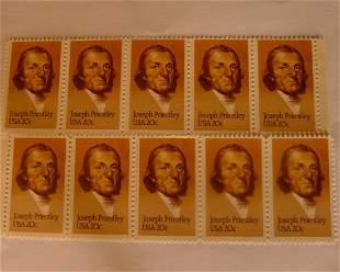 U.S. Postage Ptamps.