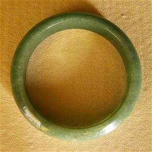 Chinese Green Jadeite Bangle