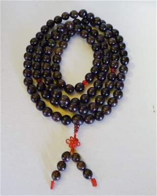 Chinese agate beads 108.