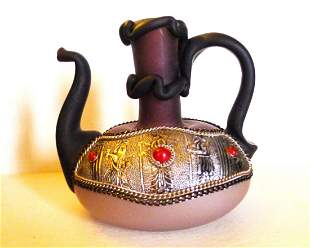 Sri Lanka inlaid stones and handmade glassware