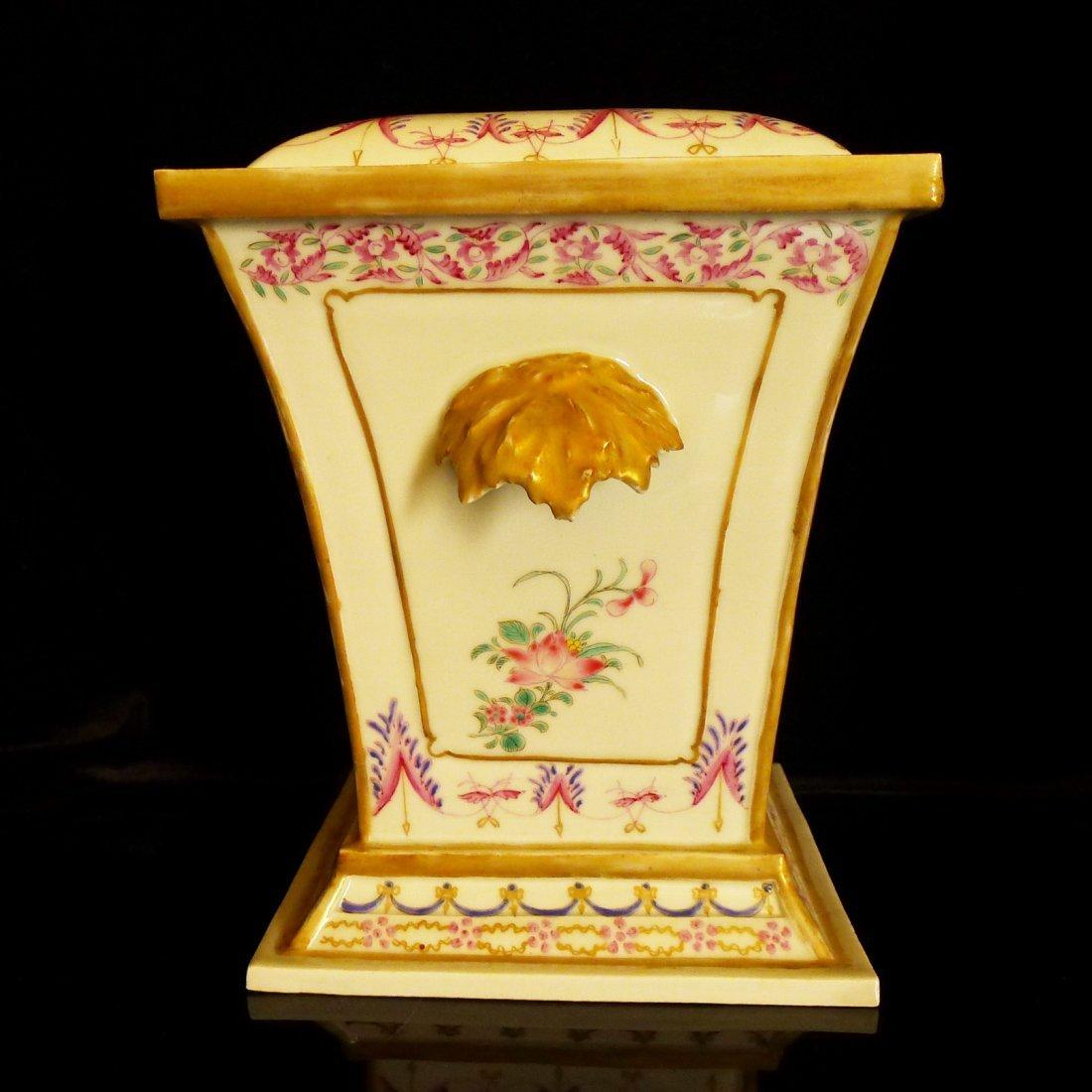 Prar of Chinese export porcelain European heraldry - 6