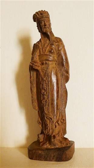 Aquilaria wood carvings - Quyuan standing