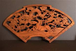 Old camphor wood carvings