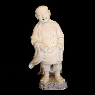 Chinese Dehua White Porcelain Figure Statue