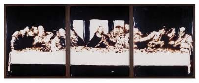 "Vik Muniz (Brasil, n., nac. 1961, ""Milan (The Last Supp"