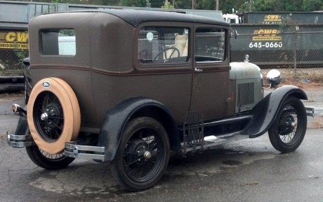 1929 A MODEL CAR
