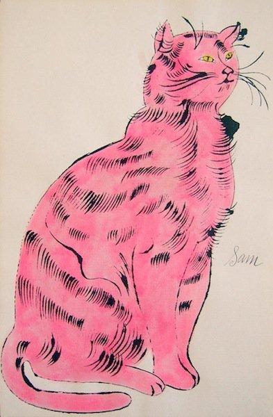 "10: Andy Warhol, ""25 Cats"""